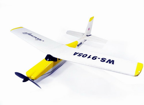 2.4G 4-CHANNEL WS9105 R/C Airplane! Ready to Fly!