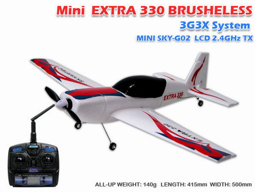 2.4GHz Skyartec Mini Extra300 3G3X Brushless RTF R/C Airplane