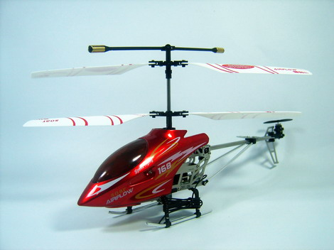 Free Shipping! 3CH Metal Body MINI Helicopter COPTER EAGLE NEW
