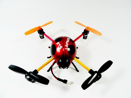Free Shipping! 2.4GHz 4-Channel LADYBUG 4-Axis aircraft! RTF!