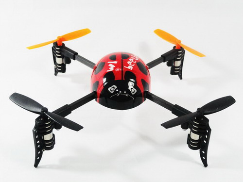 2.4G Transmitter 4-channel Mini Ladybird V939! Ready to Fly!