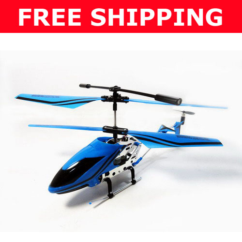 FY-8009 Metal 3.5CH Mini Helicopter +USB+Gyro!RTF