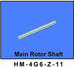 HM-4G6-Z-11: Main Rotor Shaft