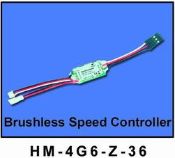 HM-4G6-Z-36: Brushless Speed Controller