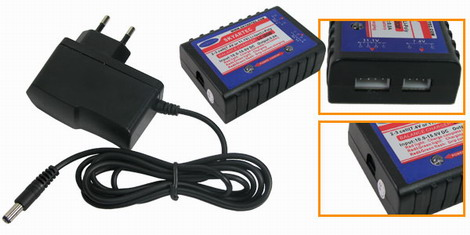 HS009 Balance Charger with Power Supply (7.4V/11.1V)