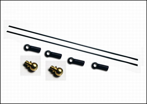 NI-32 Tail Servo Push-rod Set