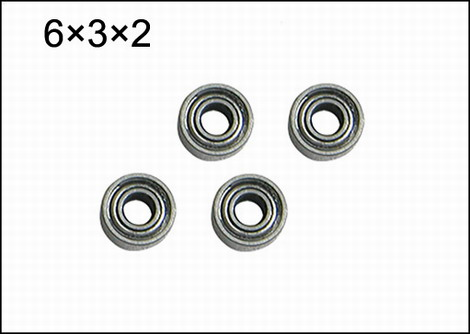 NI-53 Bearing (6×3×2mm)