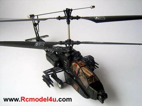2.4GHz APACHE AH-64 Longbow 4CH R/C Helicopter