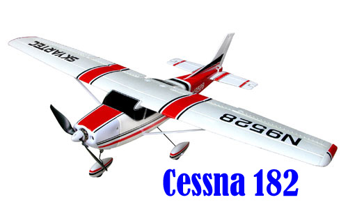 Skyartec Cessna 182 Brushless ARF Kit