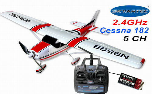 2.4GHz Skyartec Cessna 182 BL RTF Airplane (Updated version)