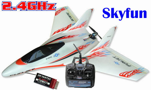 2.4G Skyartec Skyfun RTF Brushless LI-PO Airplane