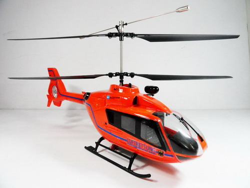 Big EC-135 Luftrettung 4 Channel R/C Co-axial Helicopter RTF