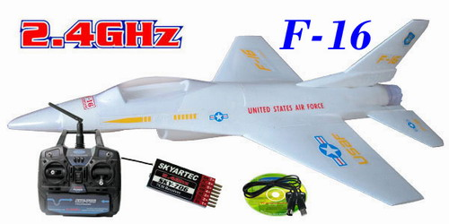 2.4G Skyartec F16 RTF Brushless LI-PO Airplane