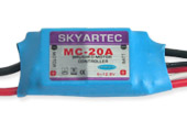 BL008 Skyartec MC-20A brush ESC