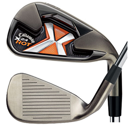 Callaway X-24 Hot #4-PW, SW Iron Set Graphite