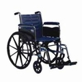 """Invacare Tracer EX2 Wheelchair, 18"""" x 16"""" Fixed Frame with Permanent Arms"""