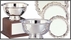 Prestige Engravable Hollowware Awards and Trophies