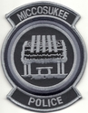 Miccosukee Police Department Florida Subdued Patch