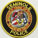 Seminole Tribal Police Florida Patch