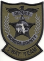 Monroe County Deputy Sheriff S.W.A.T. Team Florida Patch