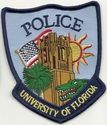 University Of Florida Police Patch