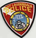Fort Lauderdale Police Dive Team Florida Patch