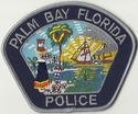 Palm Bay Police Florida Patch