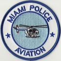 Miami Police Aviation Florida Patch