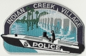 Indian Village Creek Police Patch
