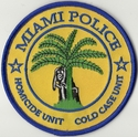 Miami Police Homicide Unit Cold Case Unit Florida Patch