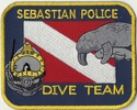 Sebastian Police Dive Team Florida Patch