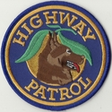 Florida Highway Patrol K9 Patch