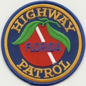 Florida Highway Patrol Dive Team Patch