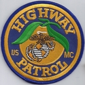 Florida Highway Patrol USMC Patch