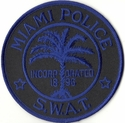 Miami Police S.W.A.T. Florida Patch