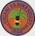 Miami Police Department Bomb Squad Florida Patch