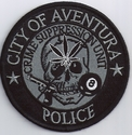 City of Aventura Police Crime Suppression Unit Florida Patch