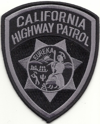 California Highway Patrol Subdued Patch
