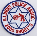 Illinois Police Association 2000 Shoot's Patch