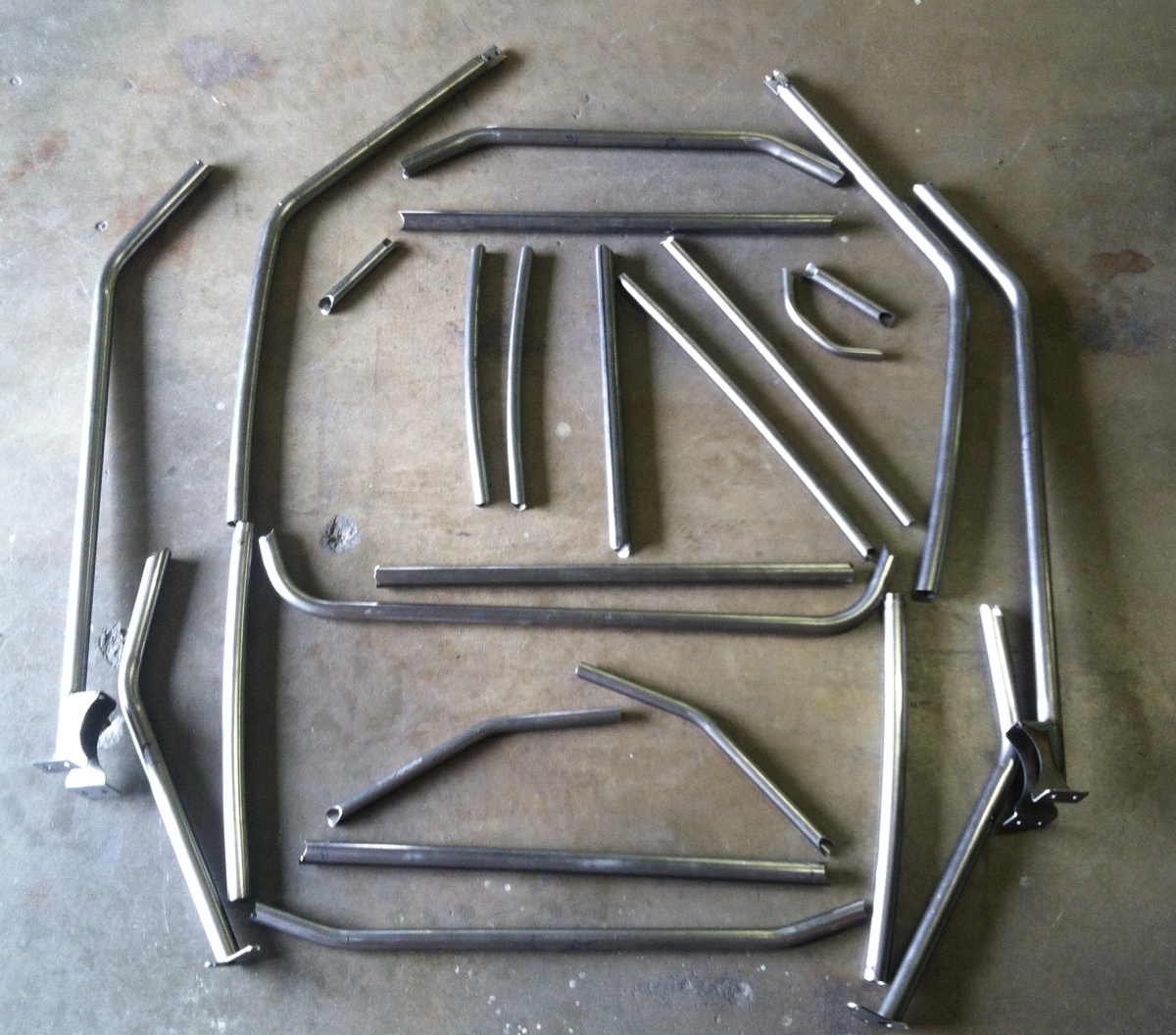 Finally Utvgiant Weld It Yourself Rzr 4 Cage Kits In