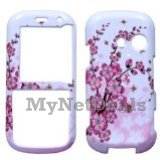 Spring Flowers Snap-On Cover Case Protector Faceplate for LG Rumor2/ LX265