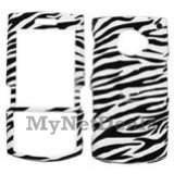 Zebra Skin Snap-On Cover Case Protector Faceplate for Samsung i760