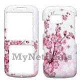 Spring Flowers Snap-On Cover Case Protector Faceplate for Samsung M540 Rant
