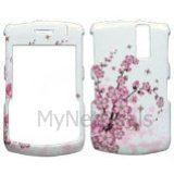 Spring Flowers Snap-On Cover Case Protector Faceplate for Blackberry 8300/ 8310/ 8330 Curve
