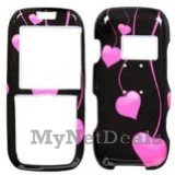 Love Drops Snap-On Cover Case Protector Faceplate for LG LX260 Rumor