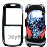 Metal Head Snap-On Cover Case Protector Faceplate for LG LX260 Rumor