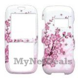 Spring Flowers Snap-On Cover Case Protector Faceplate for LG LX260 Rumor