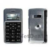 Carbon Fiber Snap-On Cover Case Protector Faceplate for LG enV2 (VX9100)