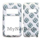 Diamond Dollar Snap-On Cover Case Protector Faceplate for LG enV2 (VX9100)