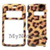 Leopard Snap-On Cover Case Protector Faceplate for LG enV2 (VX9100)
